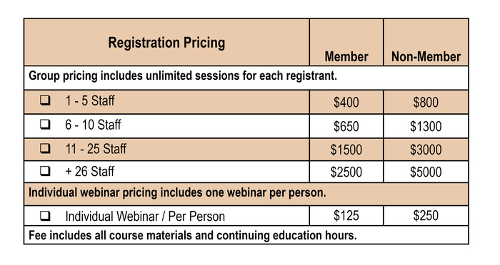 2020 Fall Education Fest Pricing