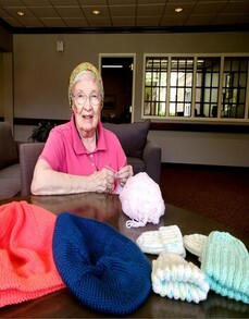 Ruth Brewer - Knitted Hats