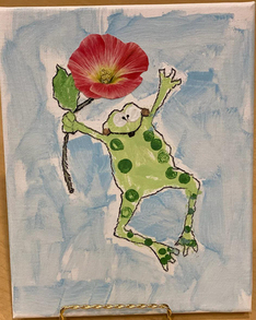 Sharon Webb - The Frog Is Jumping